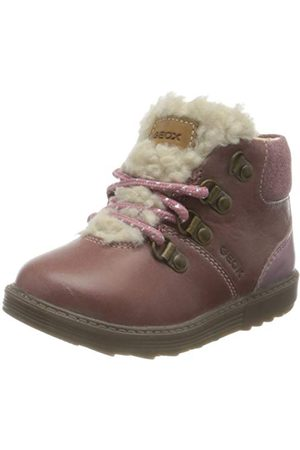 Geox Baby-flicka B Hynde Girl D Chukka Boot, Dk Ros26 EU