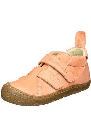 Däumling Djumling baby-flicka nal sneaker, vaxaxad lachs 05-25 EU