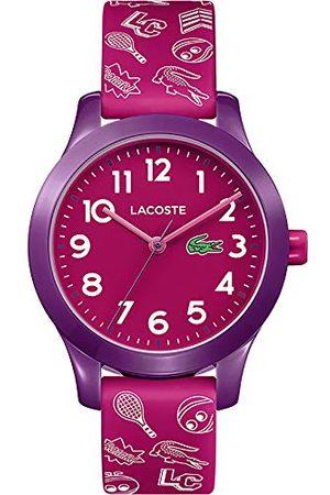 Lacoste Unisex barn analog kvarts armbandsur med silikonarmband