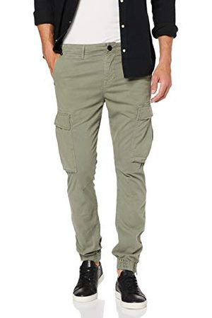 True Religion Herr Cargo Pant Dusty Olive Slim Jeans
