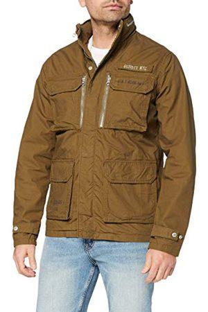 Schott NYC Herr VESTE DE COMBAT RIBSTOP jackor, khaki, L