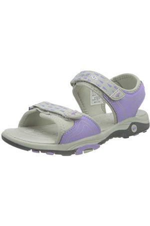 KangaROOS Unisex barn K-blond sandaler, Ånggrå lavendel - 32 EU