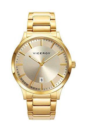 Viceroy Herr analog kvartsklocka med rostfritt stålrem 471169-97
