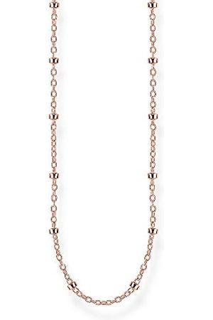 Thomas Sabo Unisex ärt-halsband 925 sterlingsilver roséguld förgyllt KE1890-415-40-L50V