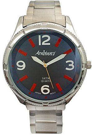 ARABIANS Analog kvartsklocka för män med rostfritt stålrem HAP2199A