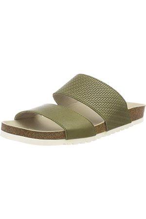 Apple of Eden Dam Panta sandaler med öppen tå, kaki42 EU