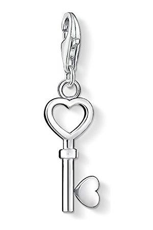 Thomas Sabo Dam-charm-berlock nyckel hjärta berlock klubb 925 sterlingsilver 0888-001-12