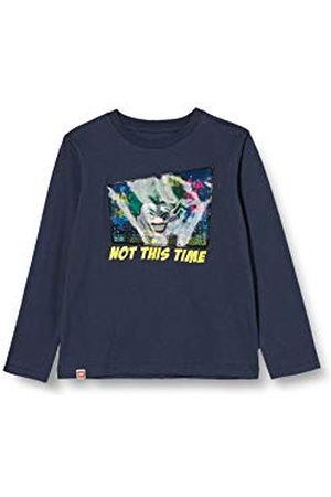 LEGO Wear Pojkar Mw-långärmad tröja linsulärtryck Batman t-shirt