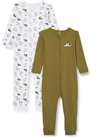 Name it Spädbarn pojke småbarn pyjamas (2-pack)