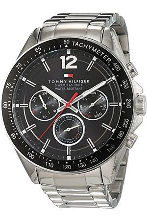 Tommy Hilfiger Herr analog kvartsklocka med rostfritt stål armband 1791104