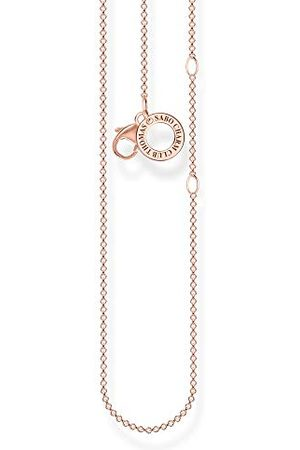 Thomas Sabo Charm halsband rosé 925 sterlingsilver, 36–38 cm längd