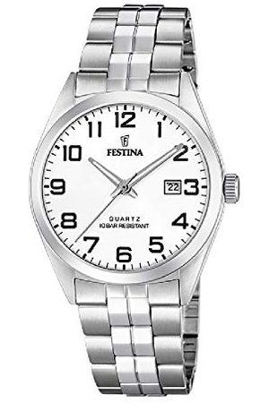Festina Herr analog kvartsklocka med rostfritt stål armband F20437/1