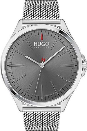 HUGO BOSS Herr analog kvartsklocka med rostfritt stålrem 1530135