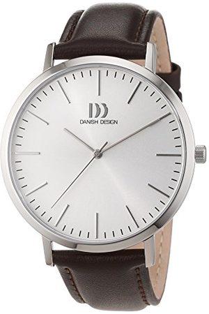 Danish Design Herrarmbandsur analog kvarts läder 3314508