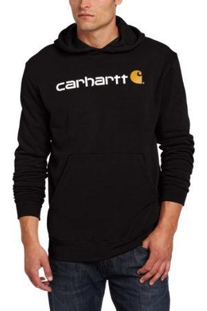 Carhartt Herr signaturlogotyp mellanvikt sweatshirt tröja
