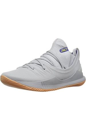 Under Armour Herr Curry 5, vit, Elemental 105 overcast grå48 EU
