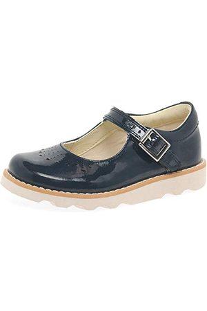 Clarks Flicka Loafers - Flickors krona hopp T-loafers