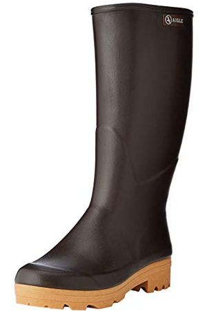 Aigle Chambord Pro 2 Iso Work Wellingtons, Brown 001-5.5 UK