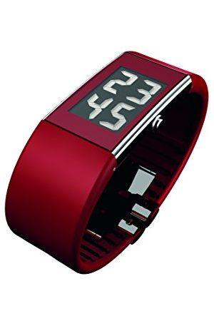 Rosendahl Digital kvartsklocka för män med plastrem 43108