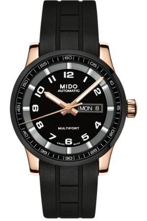 MIDO Herrarmbandsur XL multifort analog automatisk gummi M0054303705780