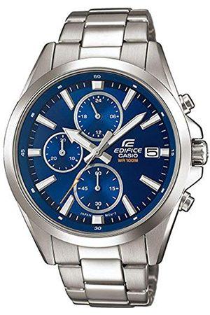 Casio Edifice herr massivt rostfritt stål hus och rostfritt stål armband klockarmband EFV-560D-2AVUEF