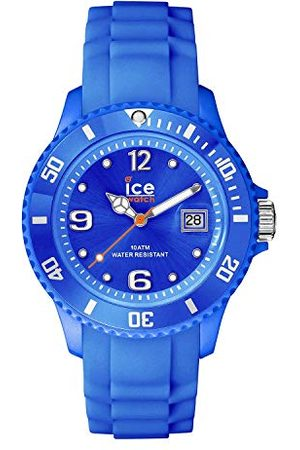 Ice-Watch Ice Forever Blue – herrklocka med silikonarmband bälte Medium (M)