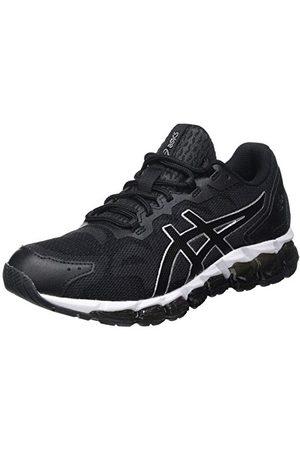 Asics Herr Gel-Quantum 360 6 Road Running Shoe, Grafitgrå svart41.5 EU