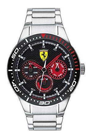 Scuderia Ferrari Scuderia herrar analog klocka med stålrem 830589