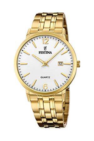 Festina Man Armband - Herr analog kvartsklocka med rostfritt stål armband F20513/2