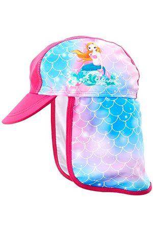 Playshoes Flicka UV-skydd badmössa sjöjungfru solhatt