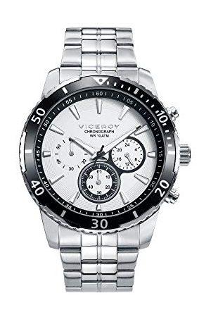Viceroy Herr Chronograph kvarts smartklocka armbandsur med rostfritt stål armband 401127-07