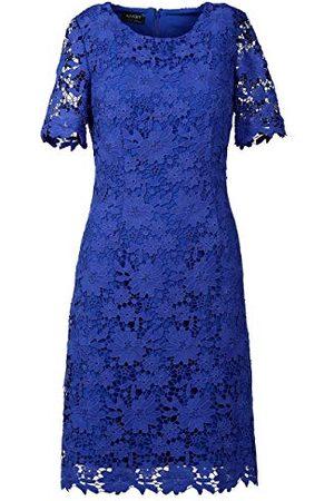 Apart Apart dam spetsklänning cocktailklänning, azurblå, normal