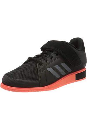 adidas Mäns Power Perfect 3 gymnastikskor, 47,3 EU, Core natt möte signal korall42 2/3 EU