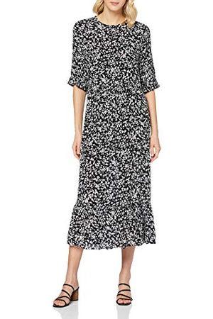 Miss Selfridge Dam Ditsy Floral Smock Midi klänning ledig klänning