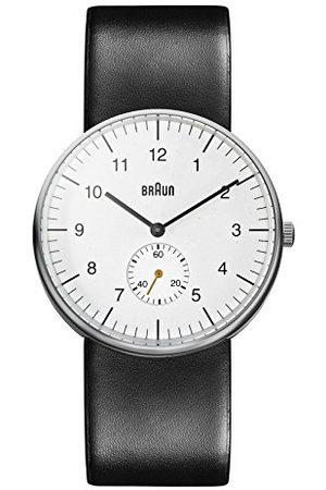 von Braun Herr analog kvarts armbandsur BN0024WHBKG