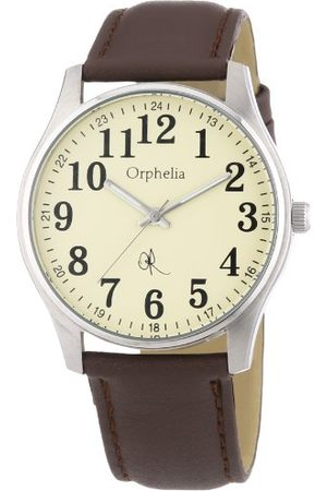 ORPHELIA Kvartsklocka för män 155-6700-23 155-6700-23 med läderrem