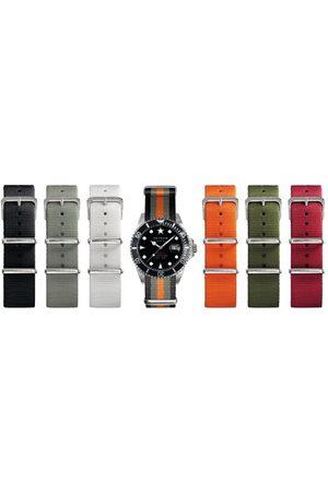 Oxygen Unisex-armbandsur analog kvarts nylon EX-D-MOB-40-LE