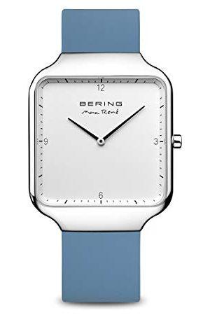 Bering Herr analog kvartsklocka med silikonarmband 15836–700