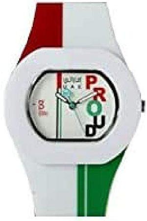 B360 B360 klocka unisex armbandsur B PROUD Emirati WR Small, 3 barer analog kvarts silikon 1050070