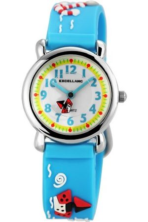 Excellanc Unisex-armbandsur analog kvarts gummi 407023500072