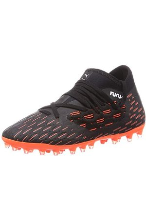 PUMA Unisex-barn Future 6.3 Netfit Mg Jr fotbollsskor, chockande orange37 EU