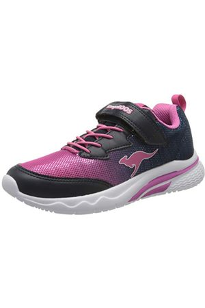 KangaROOS Unisex barn Kk-tusensköna Ev sneaker, Dk Navy Daisy Pink 4204-32 EU
