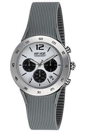 Hip Män kronograf kvartsur med silikonarmband HWU0707