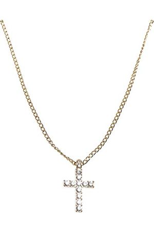 Urban classics Unisex Diamond Cross Necklace manschettknappar
