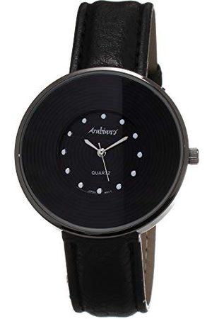 ARABIANS Analog kvartsklocka för män med läderrem DBP2099N