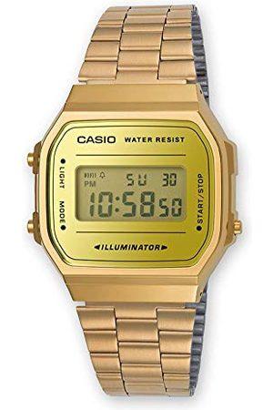 Casio Unisex vuxna digital kvartsklocka med rostfritt stål armband armband En Storlek