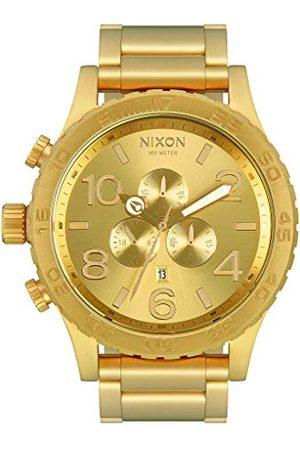 Nixon Herr kronograf kvartsur med rostfritt stålrem A083-502-00