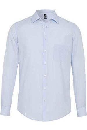 Pure Herr 3379-420 City Black lång ärm klassisk skjorta, , 3XL