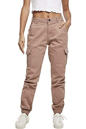 Urban classics Damer Ladies High Waist Cargo Pants byxor