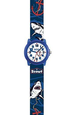 Scout Pojkar analog kvartsklocka med PU-armband 280305032
